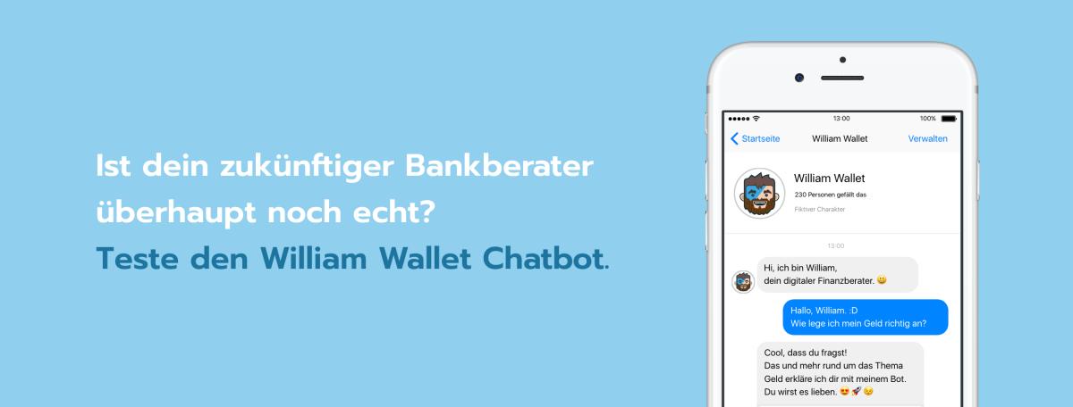 Macht der Chatbot den Bankberater arbeitslos?